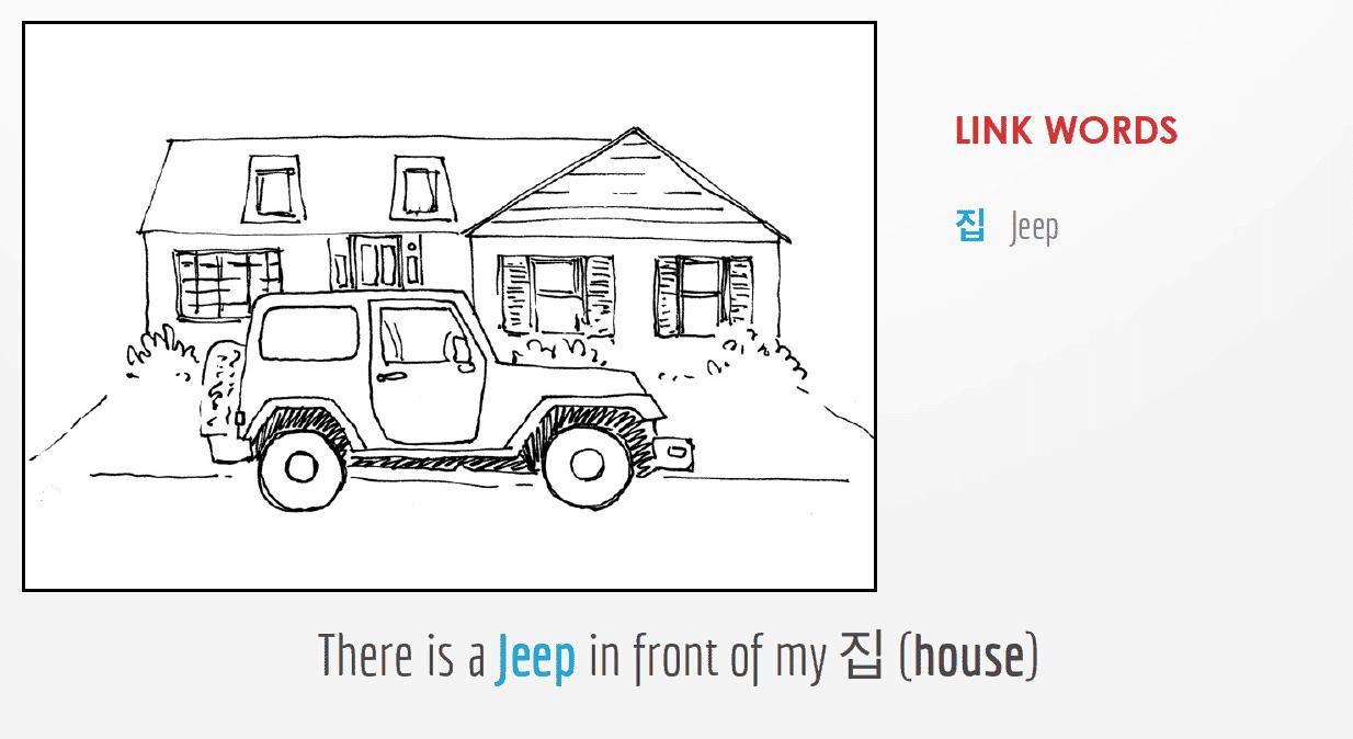 Memorize Korean Nouns Jeep
