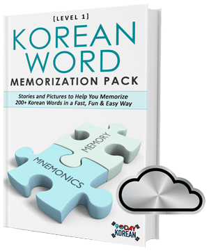 Korean Word Memorization Pack 3D Silver Package
