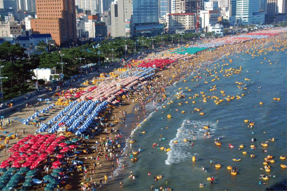 Korean Beach 1 Haeundae, Busan