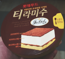 Korean Ice Cream 7.1 - Lotte Food Tiramisu
