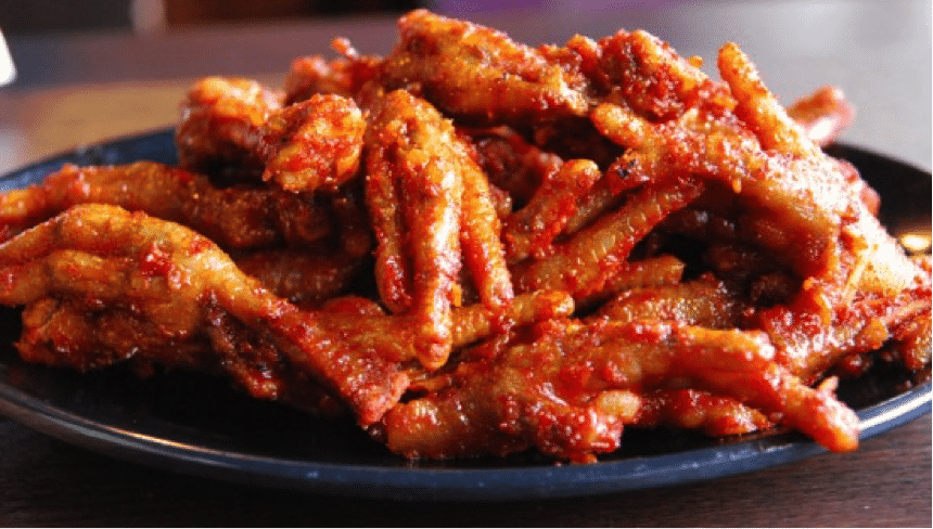 Spicy Korean Food 1 Chicken Feet