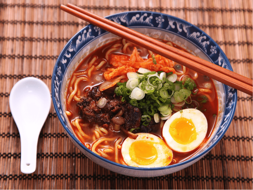 Spicy Korean Food 3 Ramyeon