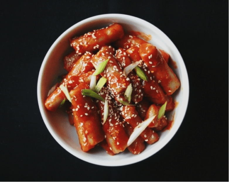 Spicy Korean Food 4 Tteokbokki