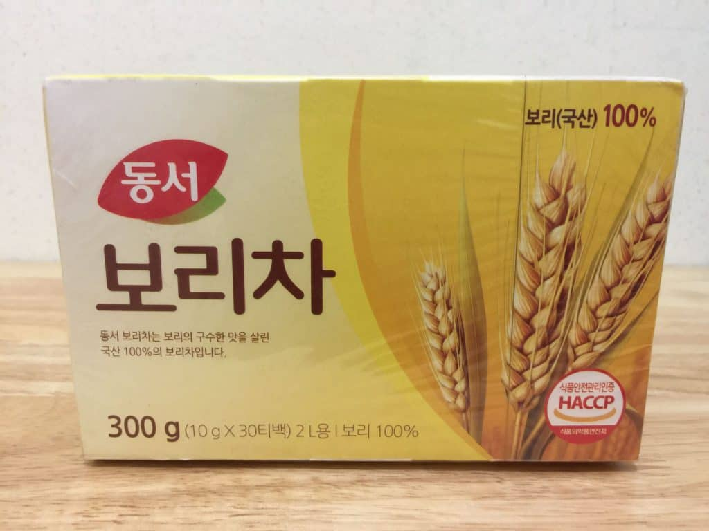 Picture of a box of Barley Tea