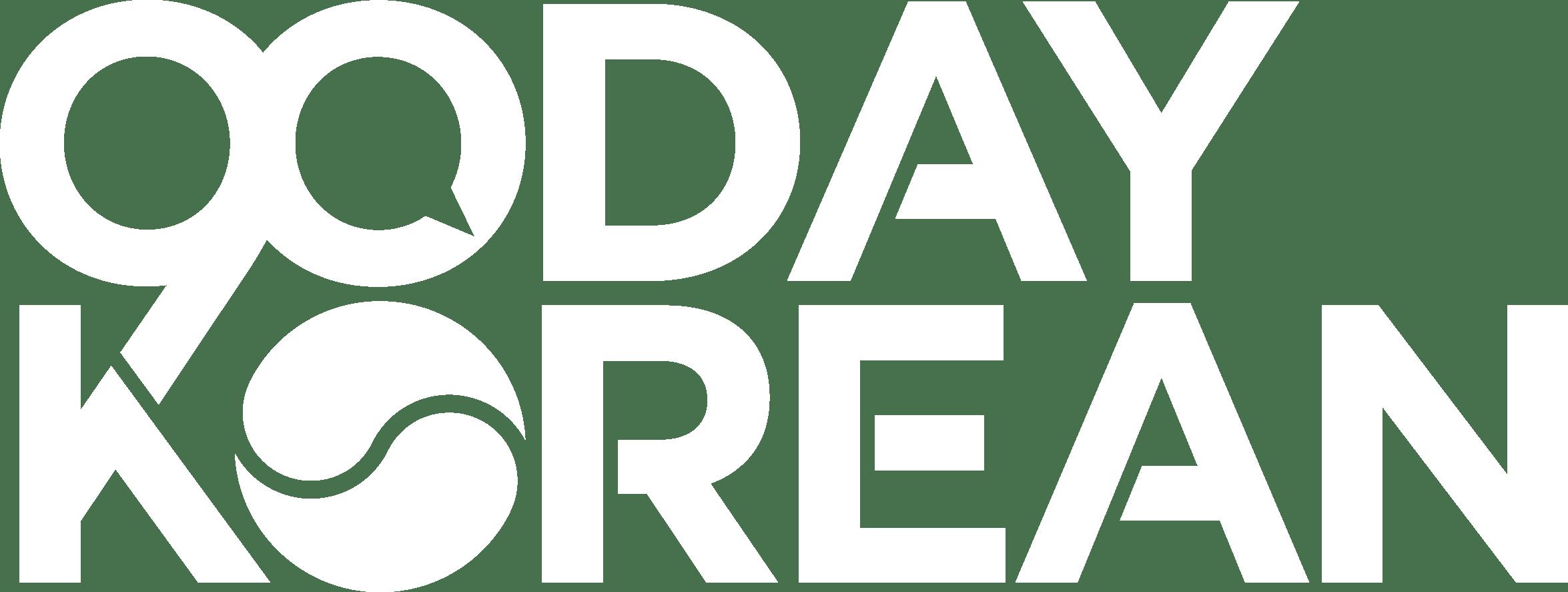 90 Day Korean White Logo