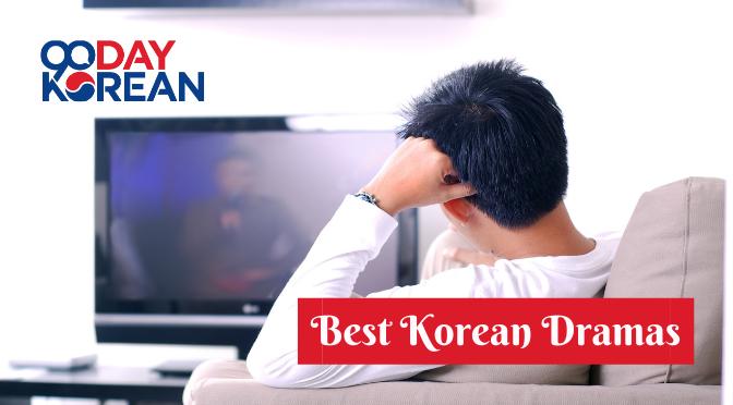 Man staring at a TV while sitting