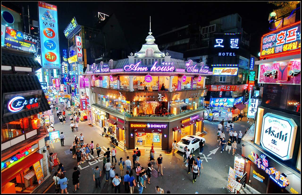 South Korea tourist attractions
