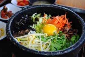 This image is to explain the Korean Joke on Bibimbap
