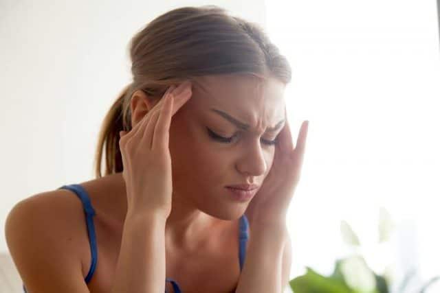 strong headache