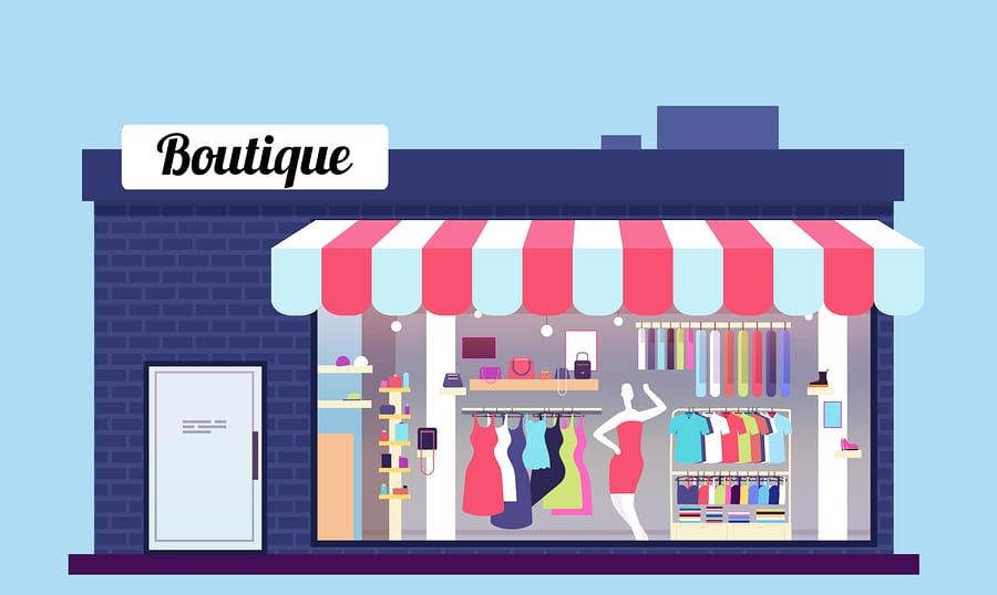 Fashion Store Exterior