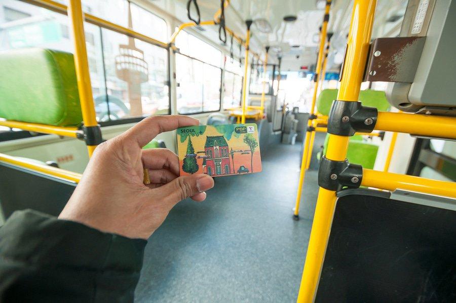 Passenger on Bus