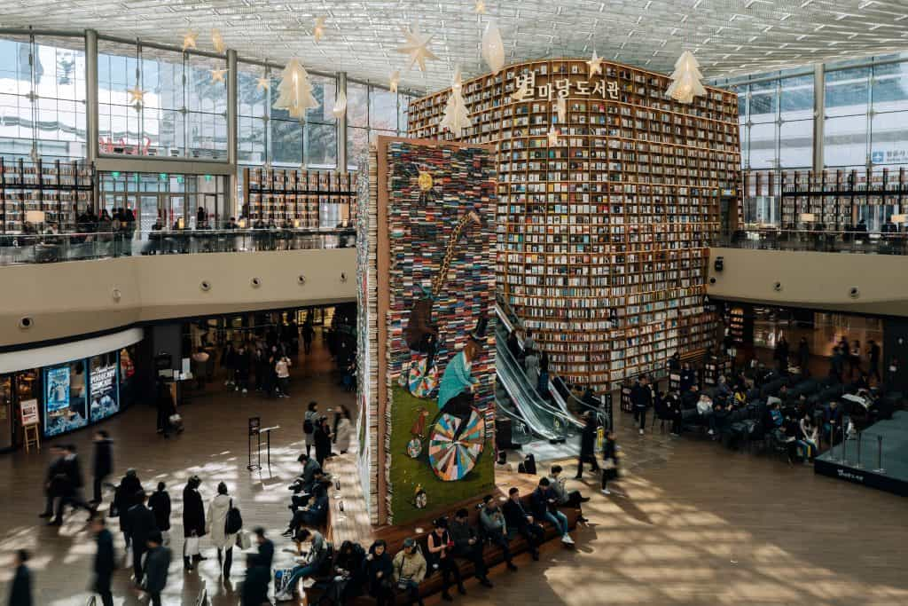 Byeolmadang library at Coex Mall, Seoul, South Korea