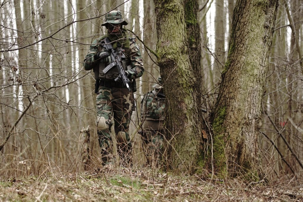 Military in Forest
