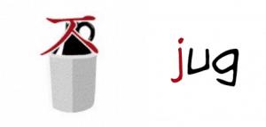 The association for the jieut in Korean is jug