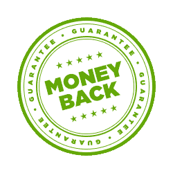 https://www.90daykorean.com/wp-content/uploads/2019/11/guarantee_17.png	Money back guarantee seal in green text