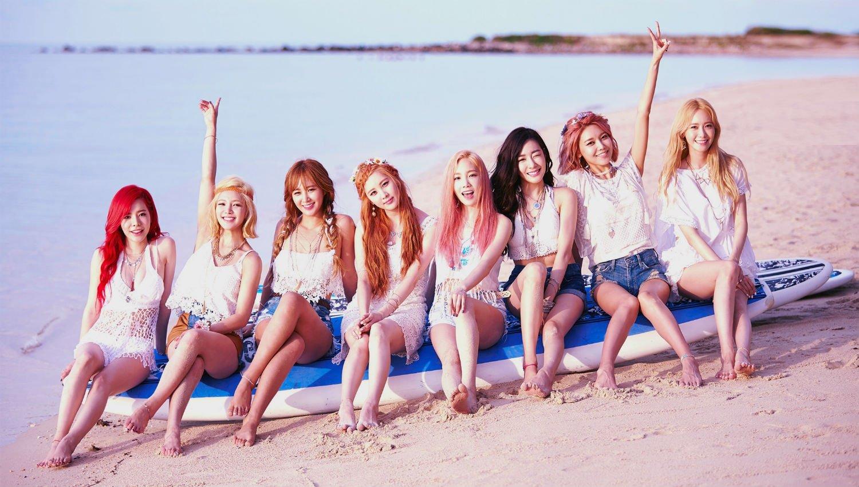 Kpop girl group Girls' Generation