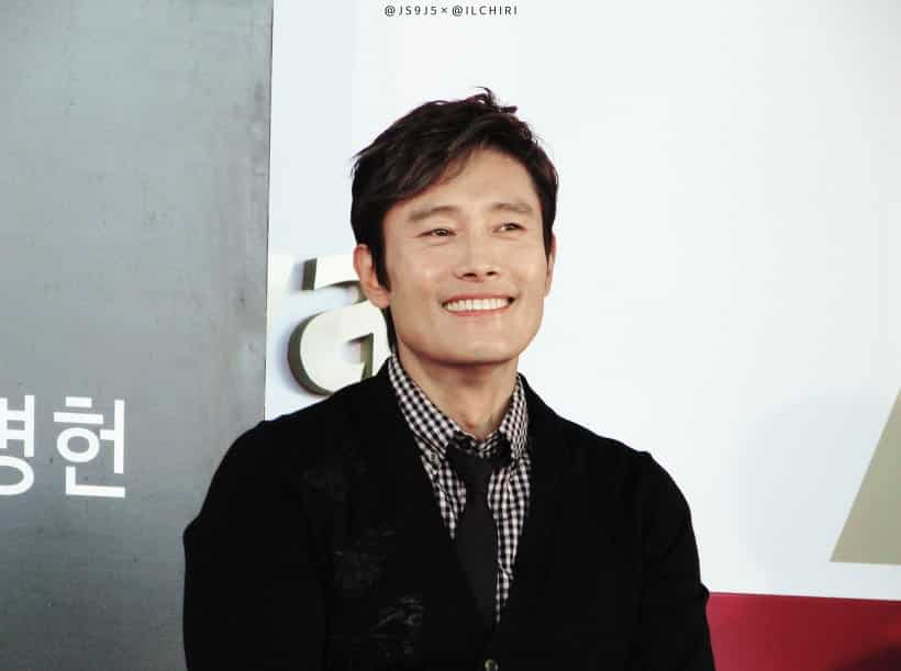 Image of Korean actor Lee Byung Hun