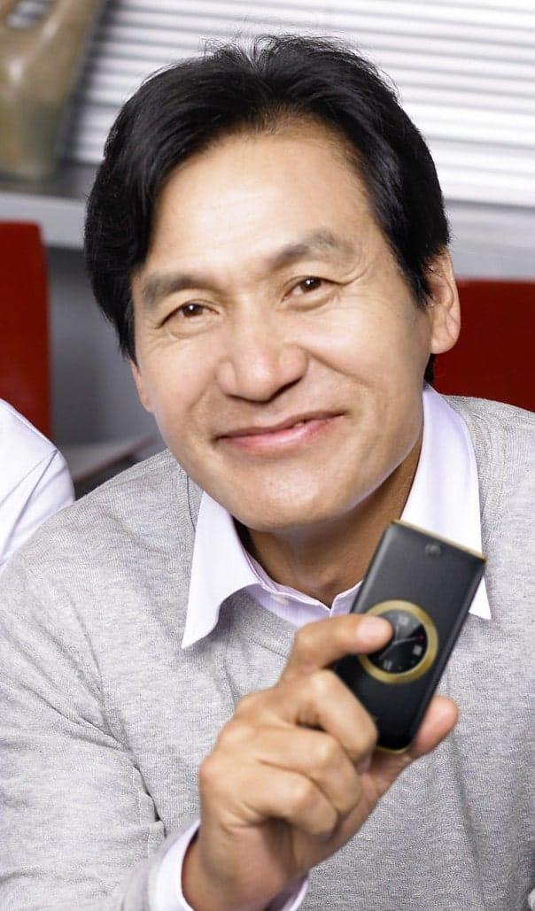 Image of Korean actor Ahn Sung Ki