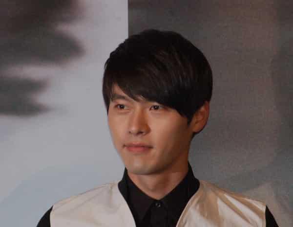 Image of Korean actor Hyun Bin