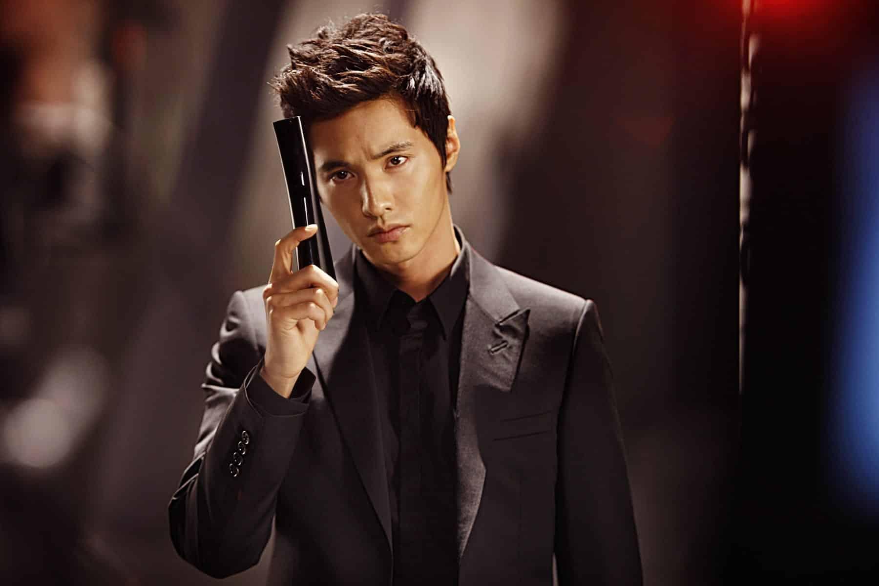 Image of Korean actor Won Bin