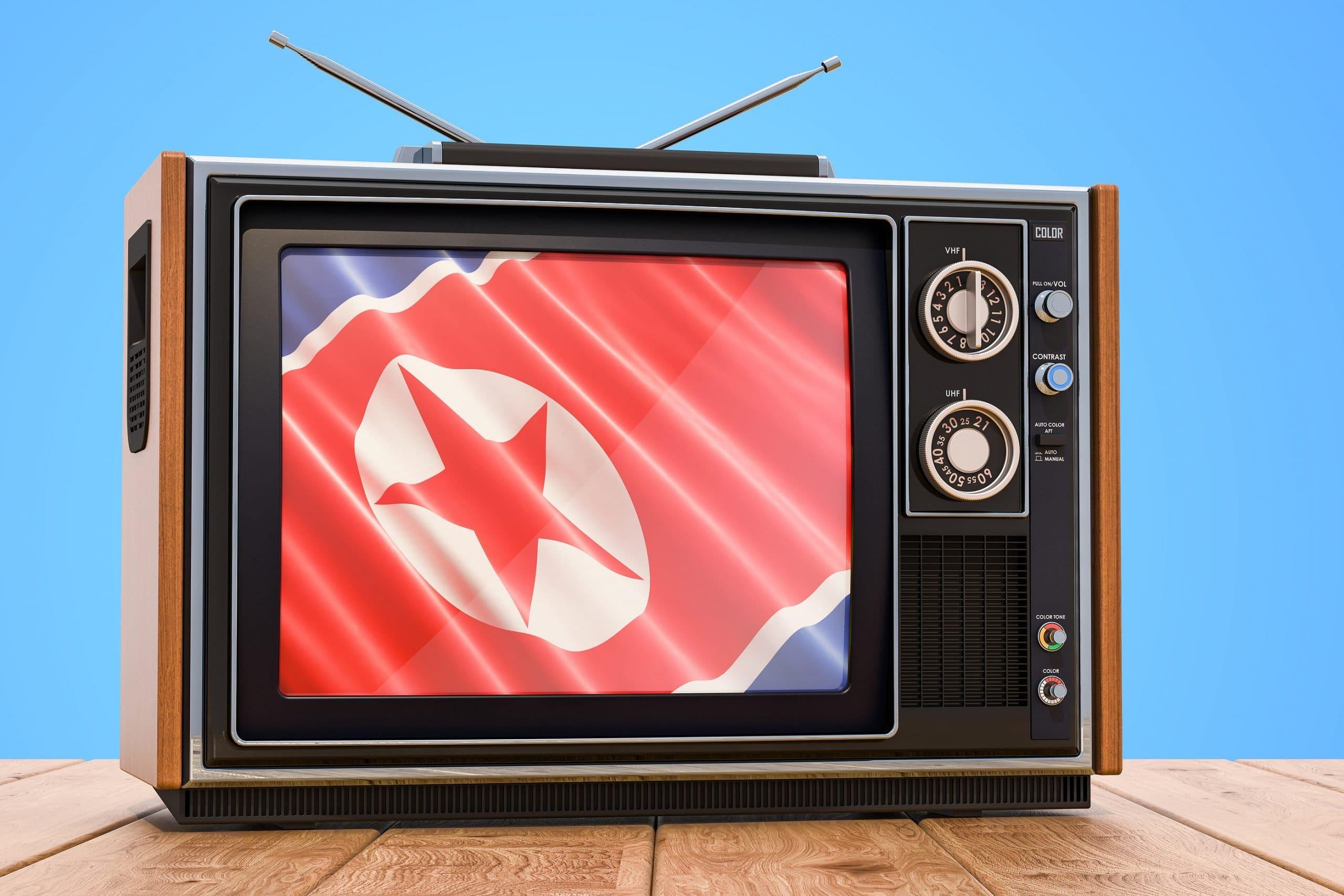 North Korea Television Concept