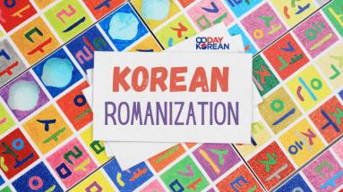 Korean Romanization